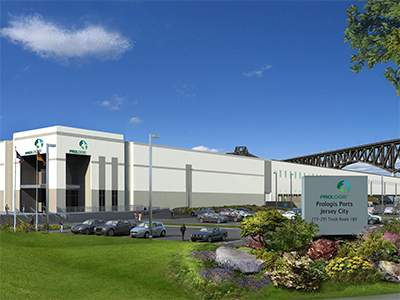 A rendering of Prologis' building