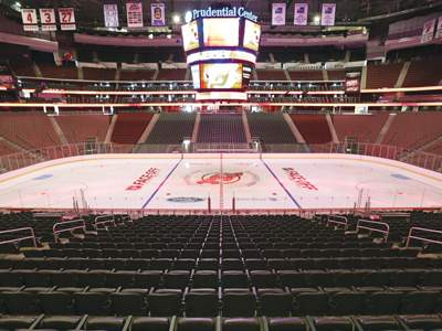 The Prudential Center.