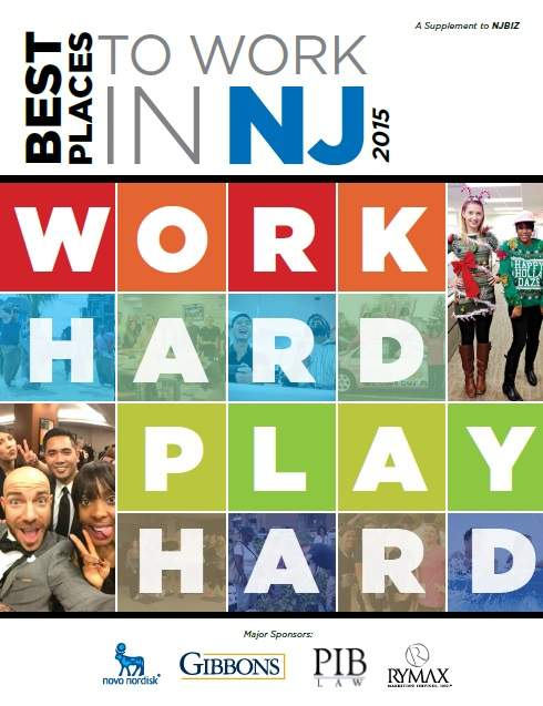 2015 Best Places to Work in New Jersey Supplement