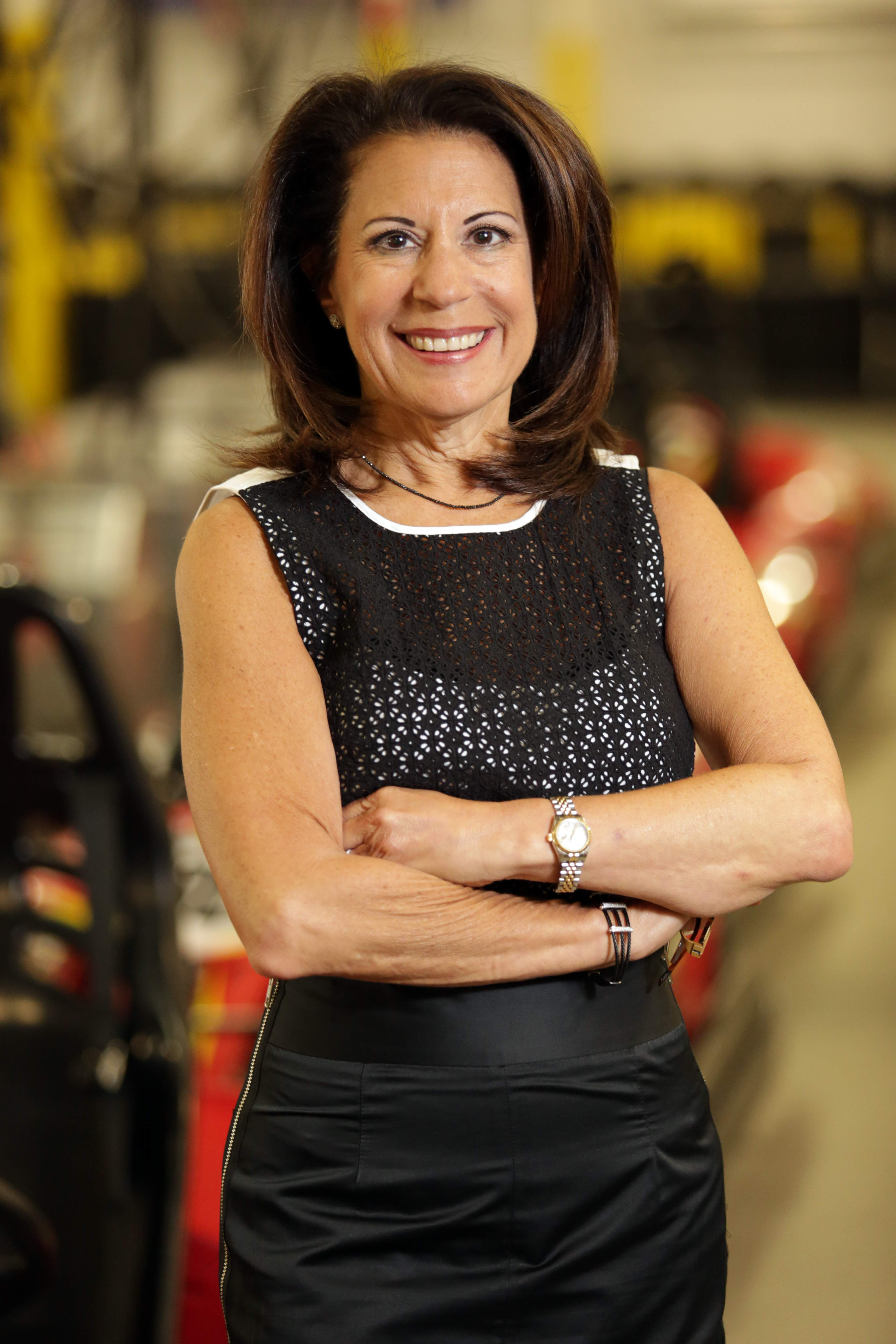 Karen Davis-Farage, president and co-owner, Pole Position Raceway in Jersey City.