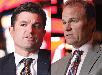 "It's been roughly 18 months since Scott O'Neil and Hugh Weber were brought on to right ship that is the Prudential Center and its main tenant, the New Jersey Devils. Hard work, led by a major transition is leadership, is starting to pay off. ""They have invested heavily in the Prudential Center and the increasing number of dates shows impact."" O'Neil, as CEO of the organization, and Weber, president of the arena, have both aggressively interacted with the business community, which has led to an increase in suite sales and corporate sponsorships. Weber is ubiquitous at Newark-area events and causes, even sitting on the board at St. Benedict's Prep. ""He's the New Jersey orbit of the whole conglomerate."" O'Neil has hands full with both the Devils and organization's other pro team, the Philadelphia 76ers, including the Sixers' new practice facility in Camden, which the team hopes to open before the start of next season. Above all else, the Devils' surprising success — they are battling for a playoff spot — is inspiring optimism. ""At least the Devils have a winning record, which is a lot better than the NBA team they own."""