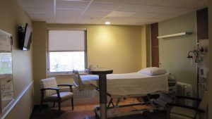 A surgical room at St. Luke's Warren Campus.
