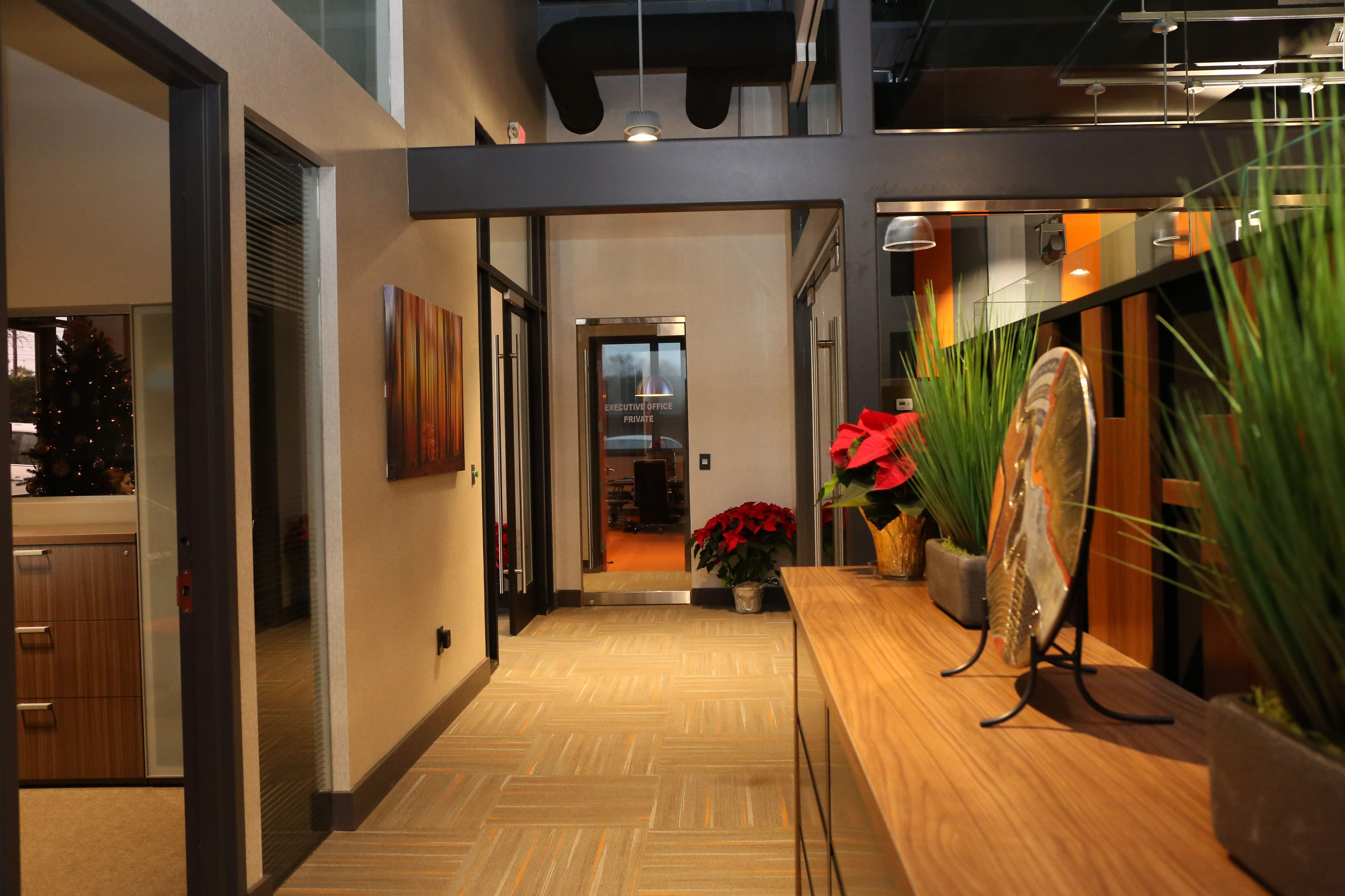 Health care company Immediate Care gave its workers a level of input over the design of its new corporate office in Red Bank.