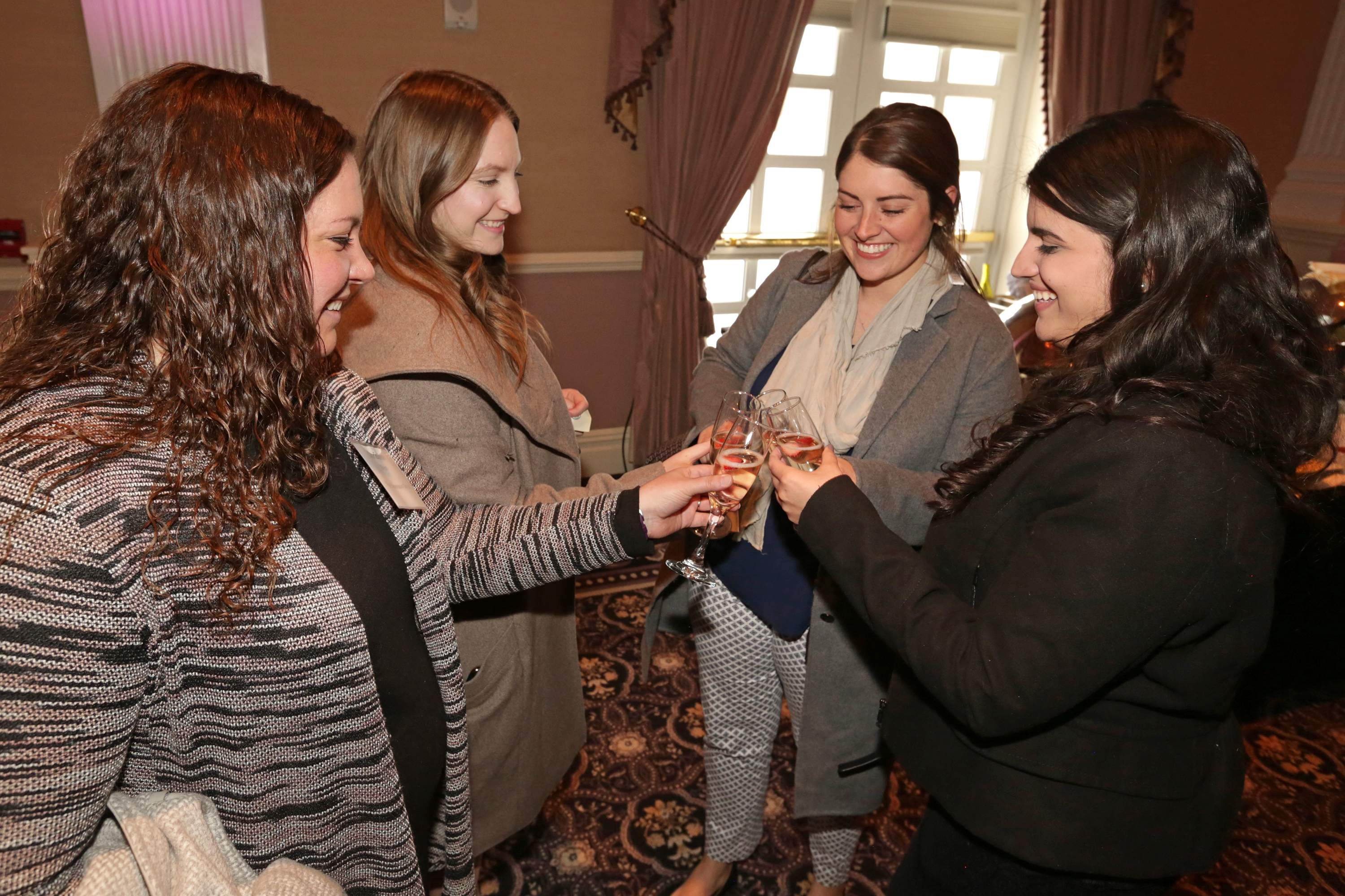 Celebratory cheers were in order at the Best 50 Women in Business event honoring New Jersey's most dynamic business women who are making headlines in their field.