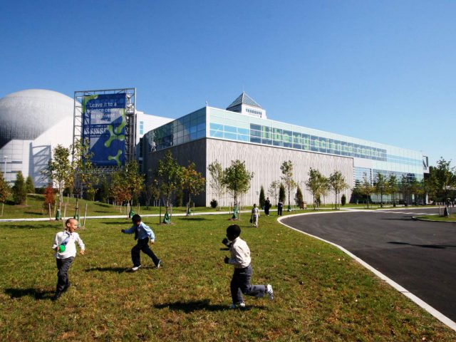 The SciTech Scity 14-acre site will be located at 222 Jersey City Blvd.