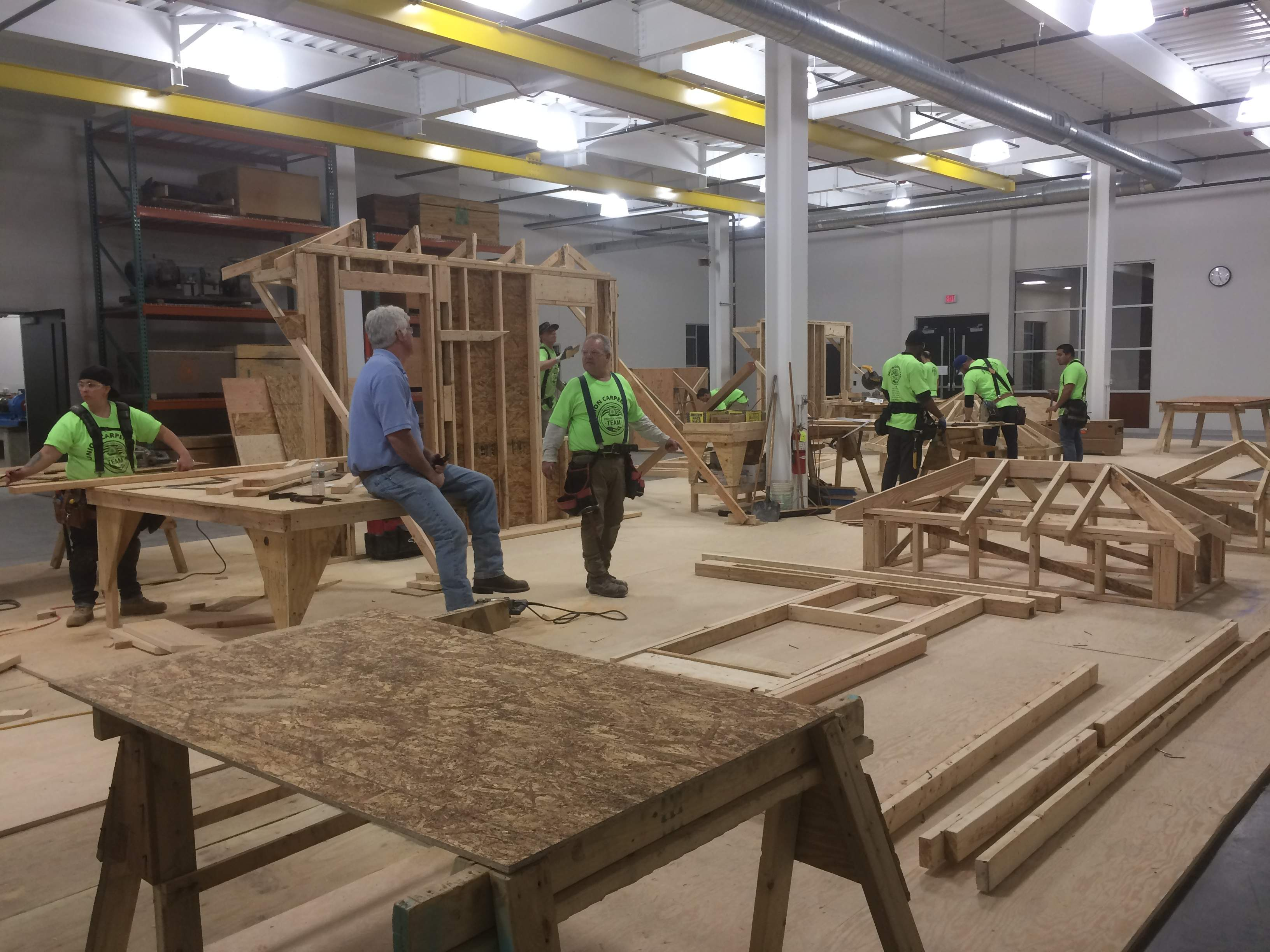 The Northeast Regional Council of Carpenters' new New Jersey Carpenters Apprentice Training Center, in Edison.