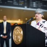 Diane Gutierrez-Scaccetti will serve as the 19th chief executive of the New Jersey Department of Transportation. - EDWIN TORRES/GOVERNOR'S OFFICE