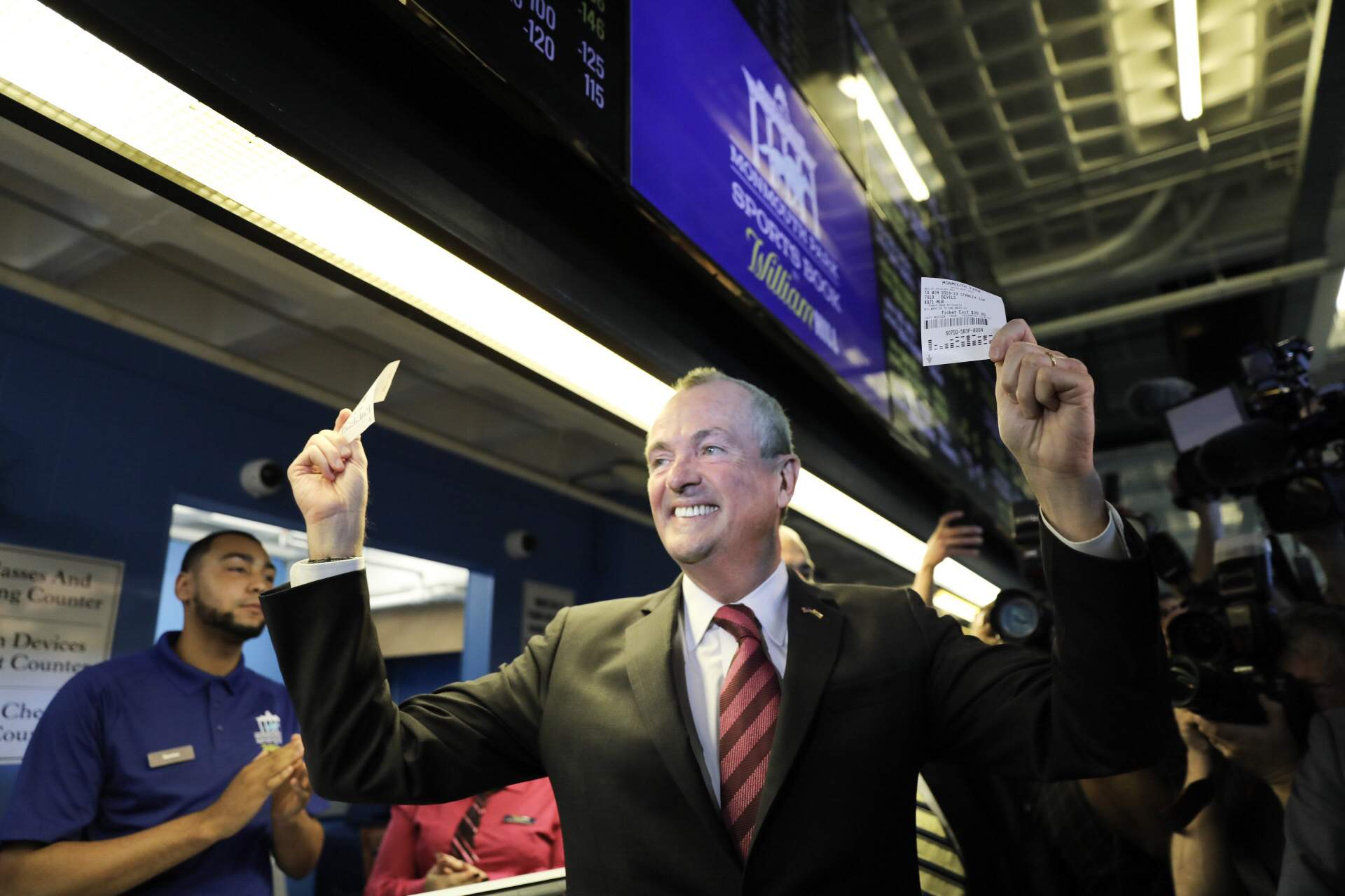 Gov. Murphy places his bet.