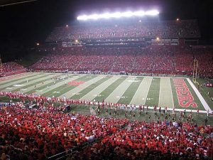 Rutgers, the birthplace of college football, stadium.