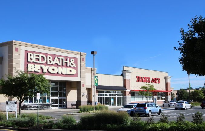 The North Village Shopping Center in North Brunswick.