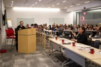 iCIMS, a provider of global talent acquisition solutions, celebrated International Women's Day on March 8 with a panel discussion and luncheon at its Bell Works headquarters in Holmdel. At the event, more than 130 employees gathered to listen to talks from female leaders across the company.