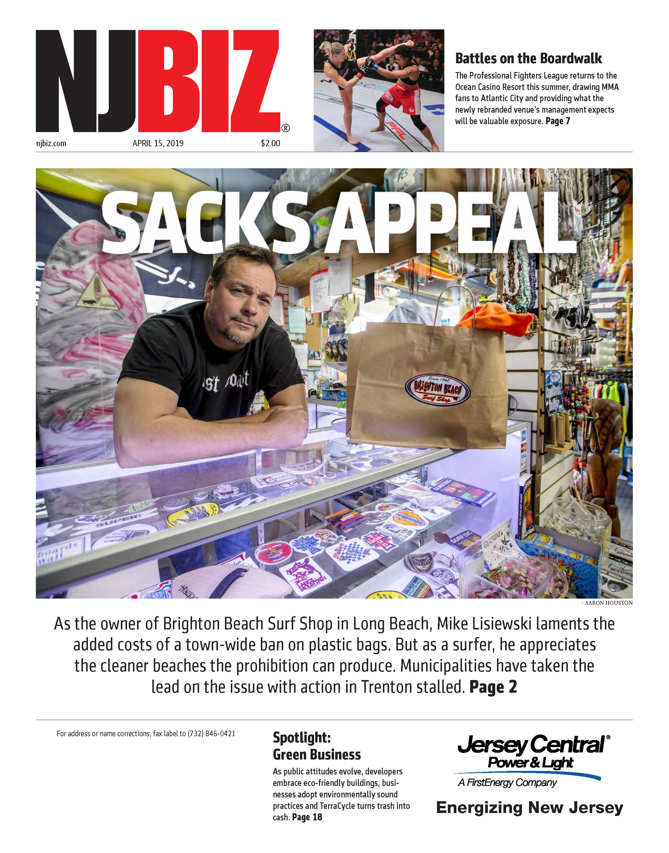 April 15, 2019 Edition of NJBIZ