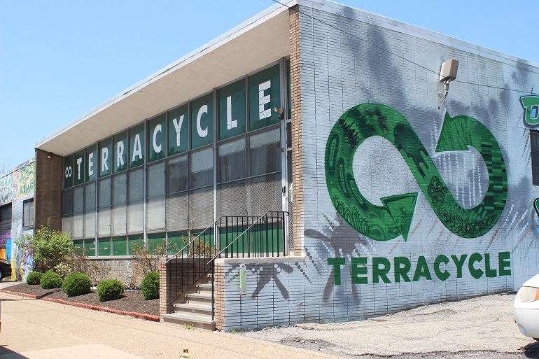 Exterior of TerraCycle's office.