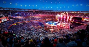 WrestleMania sets record for MetLife Stadium's highest-grossing entertainment event.