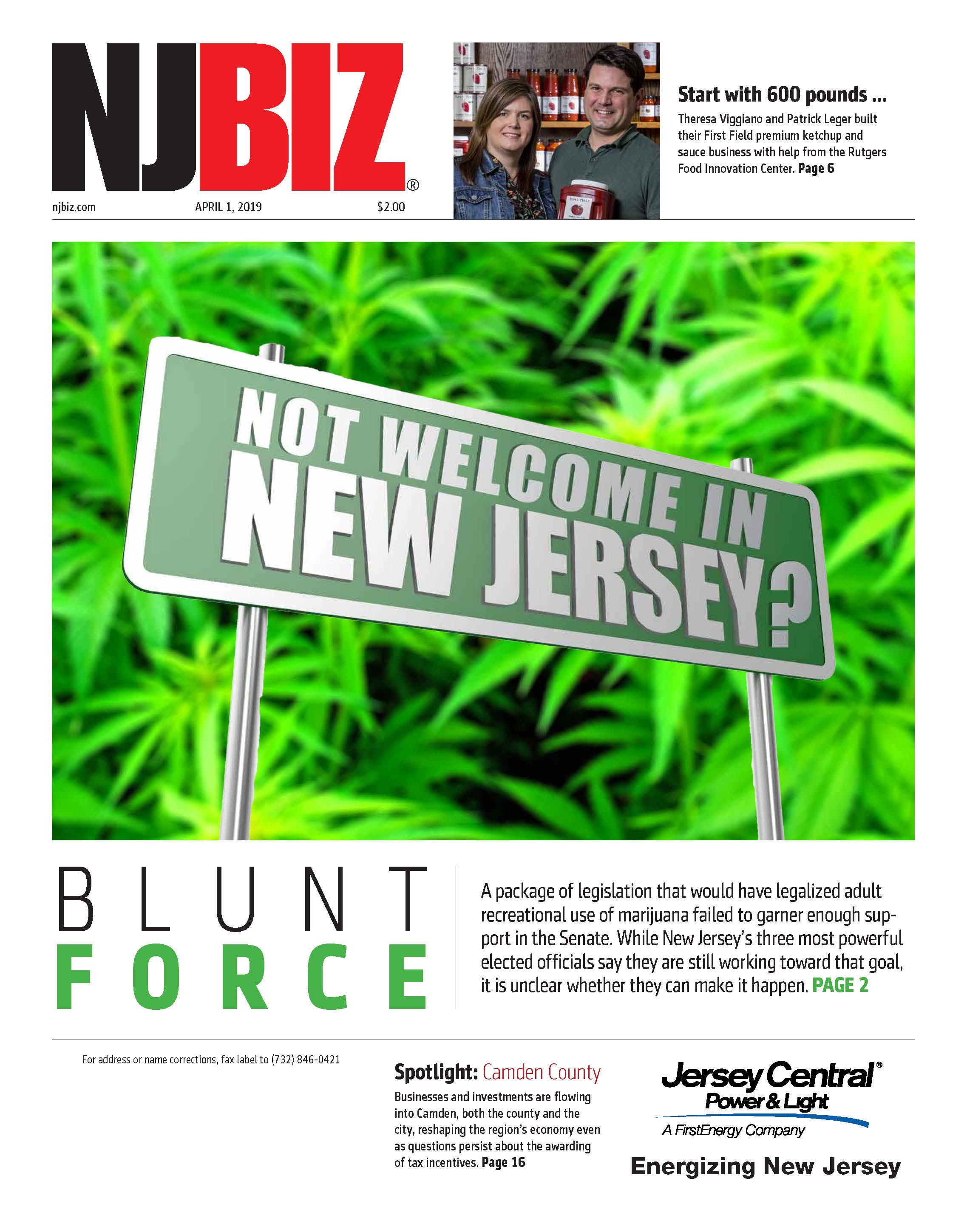 April 1, 2019 Edition of NJBIZ&nbsp;<span class=