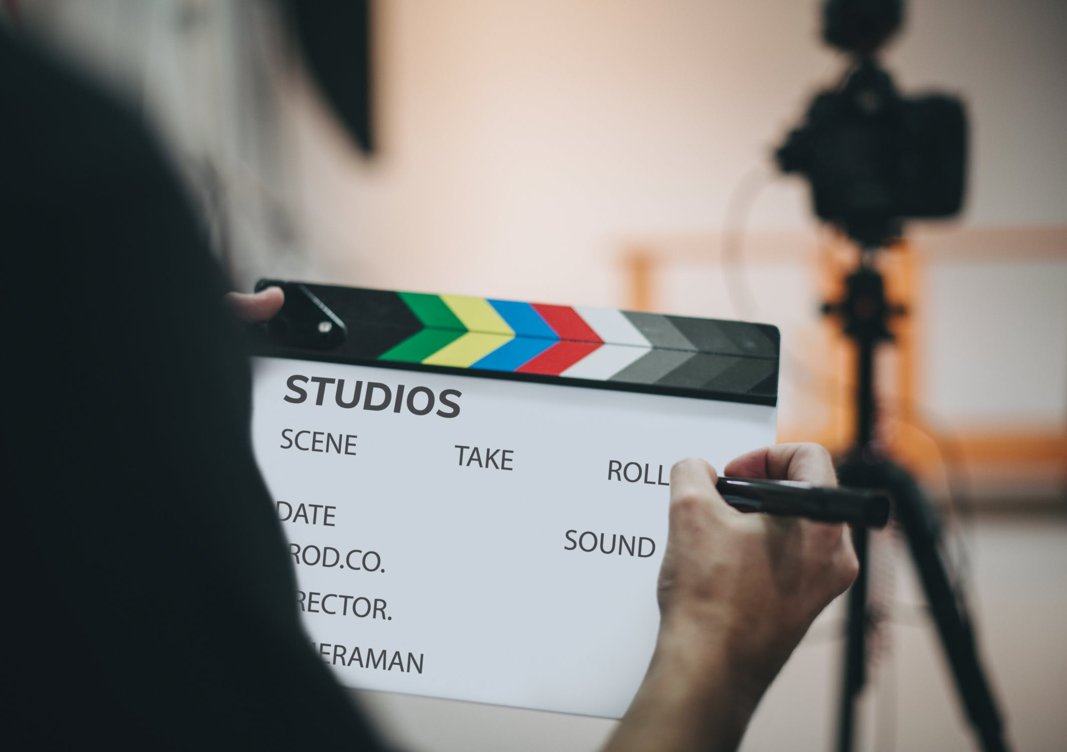 Film and Media clapboard
