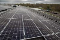 1,566 monocrystalline high‑efficiency solar panels were added to the roof of S&A Molders' 140,000 square foot manufacturing plant in Manalapan.