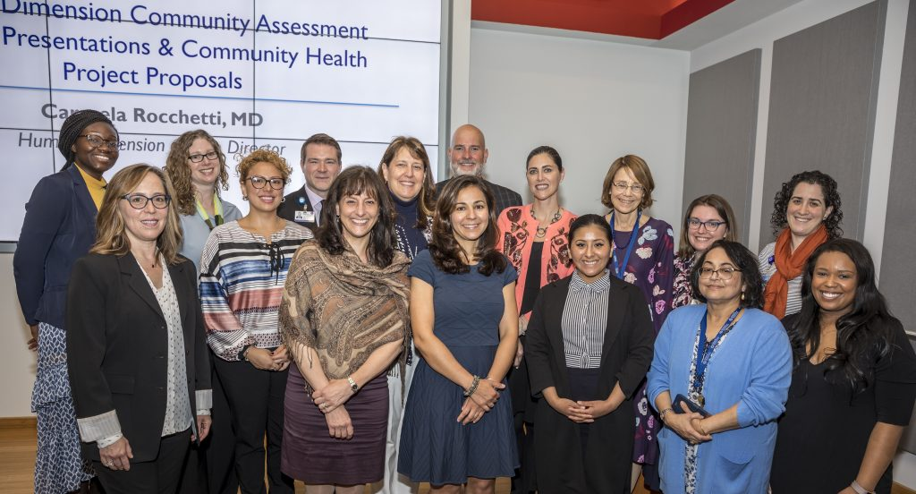 In June 2019, students from the Hackensack Meridian School of Medicine at Seton Hall University came together with local community and school leaders to discuss areas of health needs in their communities.