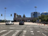 Jersey City Holland Tunnel Toll Plaza