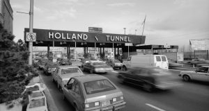 Holland Tunnel Toll Plaza in Jersey City