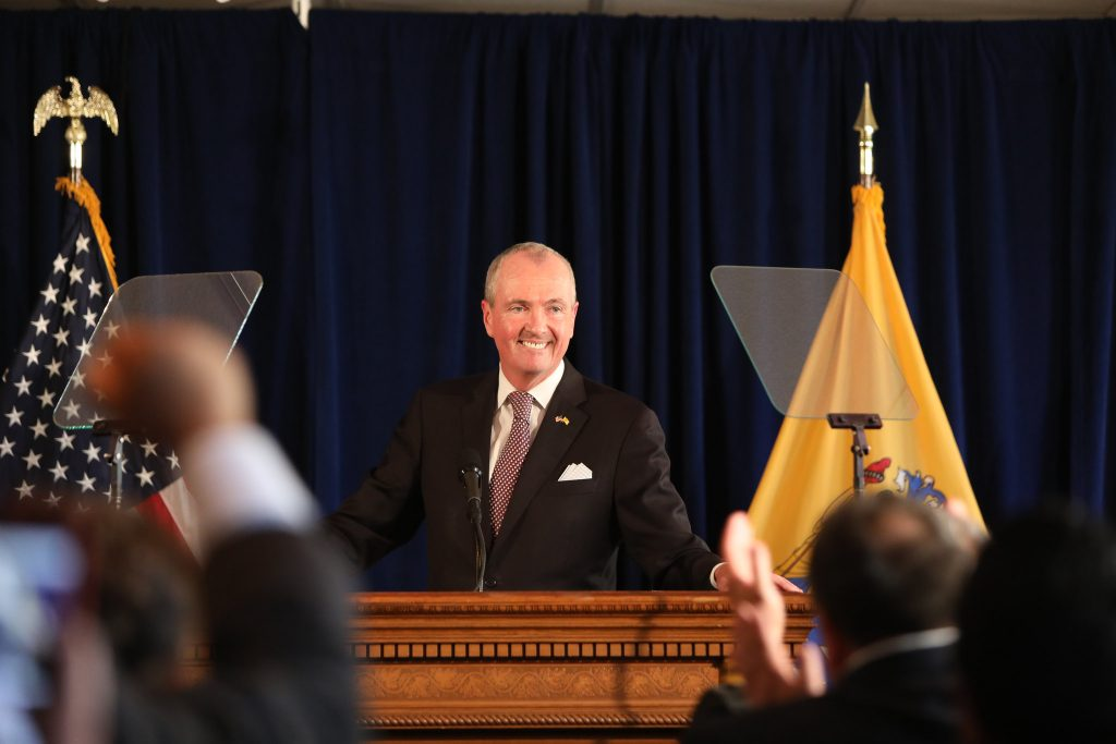Gov. Phil Murphy announces he will be sign the Fiscal Year 2020 budget in Trenton on June 30, 2019.