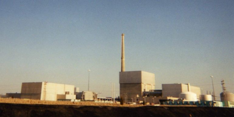 Oyster Creek Nuclear Power Plant in 1998,