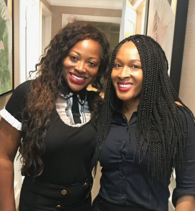 Roundtable Wellness CEO Bershan Shaw and Cornita Cole, quality assurance and project manager.