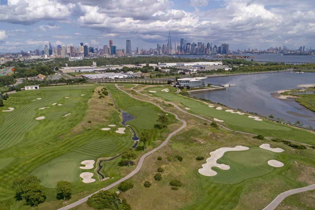 Liberty National Golf Club in Jersey City will host the FEDEXCUP PGA playoffs.