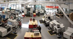 At 9,500 square feet, NJIT's Makerspace is the largest educational facility of its kind in New Jersey.