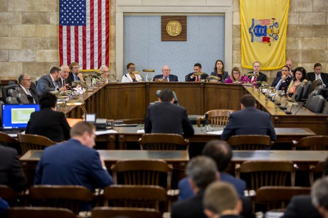 NJEDA CEO Tim Sullivan gives testimony during a meeting of the Senate Select Committee on Economic Growth Strategies on July 29, 2019.