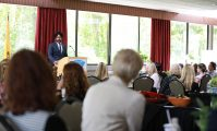 New Jersey Attorney General Gurbir Grewal speaks at the New Jersey Hospital Association Conference on Suicide & Stigma in Princeton on Sept. 24, 2019.