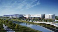 Rendering for ConRac's 2.7-million-square-foot development at Newark Liberty International Airport. - CONRAC SOLUTIONS