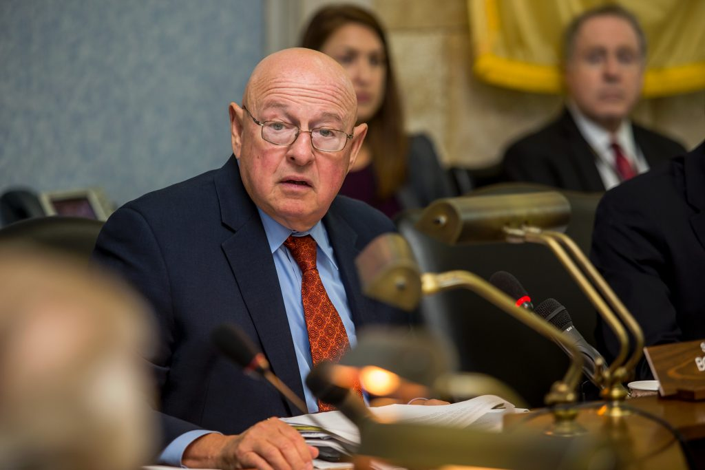Committee Chair Senator Bob Smith during a meeting of the Senate Select Committee on Economic Growth Strategies. (Photo by Aaron Houston)