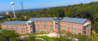 Suite-style residence Skyline Hall at William Paterson University. PHOTOS: WILLIAM PATERSON UNIVERSITY