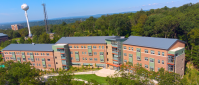 Suite-style residence Skyline Hall at William Paterson University.