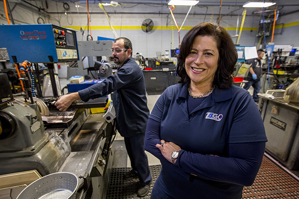 Gail Friedberg Rottenstrich, CEO, Zago Manufacturing Co.