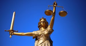 justice, law, scales, blind, lawyer, attorney,
