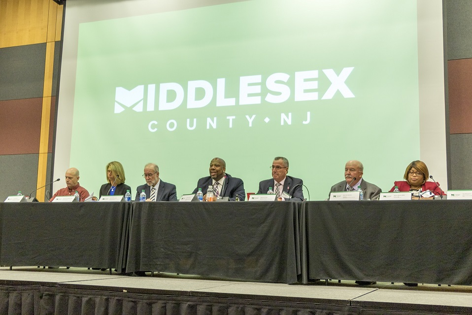 Middlesex County's Third Annual Business Summit at the Rutgers University College Avenue Student Center on October 15, 2019.
