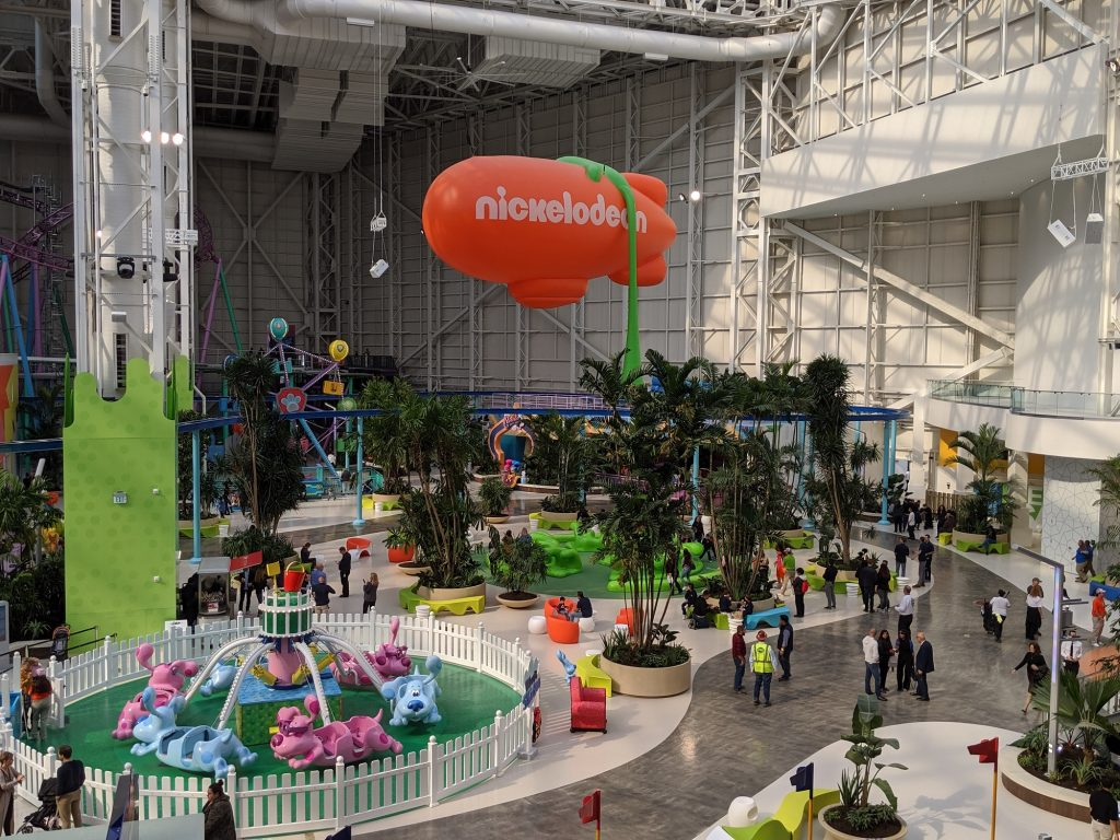 Nickelodeon Universe, part of American Dream Mall celebrated its grand opening on Oct. 25, 2019.