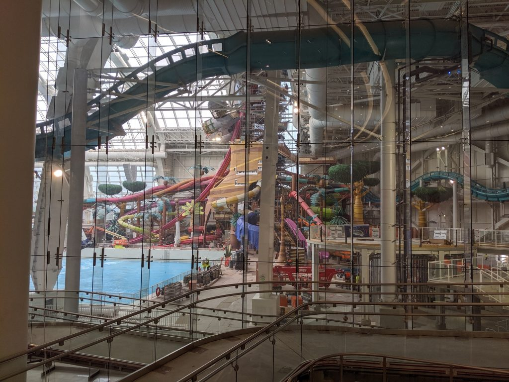 The DreamWorks waterpark at American Dream.