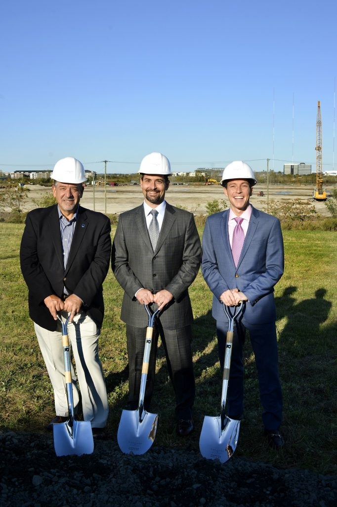 Russo Development and Forsgate Industrial Partners broke ground on Oct. 23 on Kingsland Meadowlands. - RUSSO DEVELOPMENT