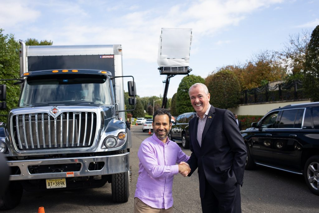 Gov. Phil Murphy highlights N.J.'s Film and Digital Media Tax Credit on Oct. 5, 2018, in Cresskill.