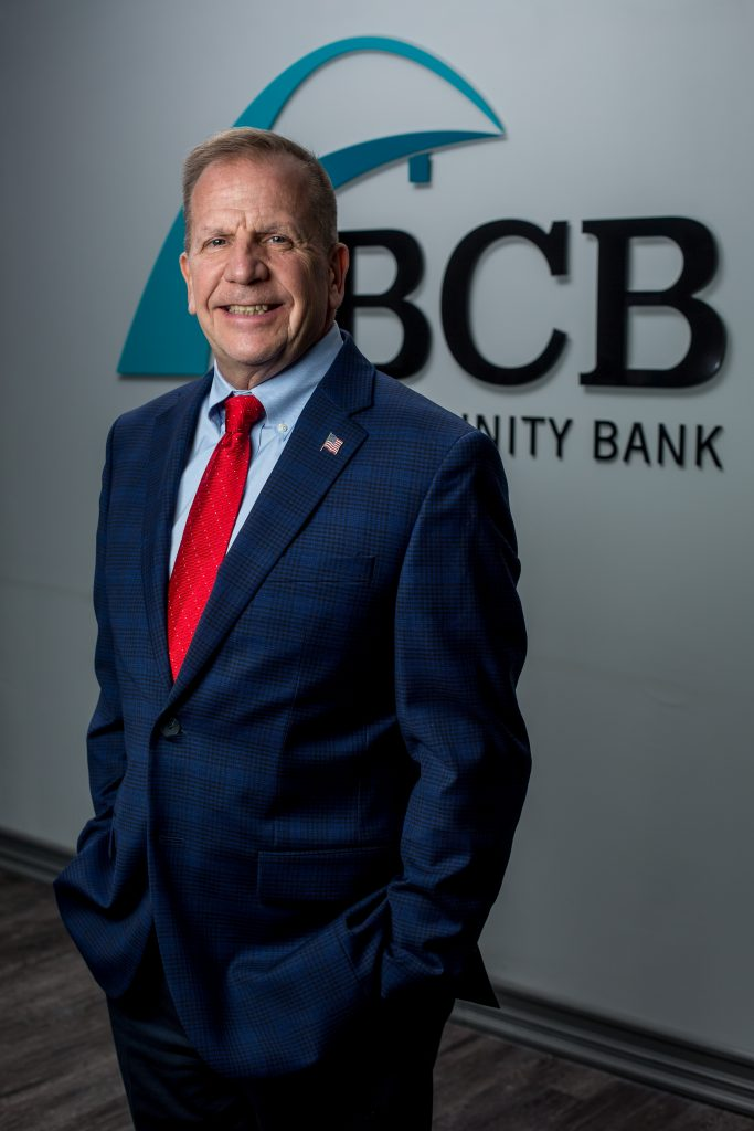 Tom Coughlin, president and CEO, BCB Bank.