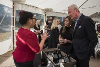 Gov. Phil Murphy and First Lady Tammy Murphy host a New Jersey craft beer event at Drumthwacket on Oct. 19, 2019.