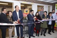 "ShopRite cuts the ribbon at its ""location"" as part of the LifeTown Shoppes at LifeTown in Livingston on Nov. 19, 2019."