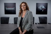 Janet Duch, team president, New York Guardians of the XFL.