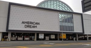 Exterior of the American Dream in the Meadowlands.