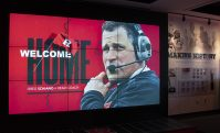 Rutgers University welcomes Greg Schiano as the Scarlet Knights new football coach at the Hale Center on the Rutgers Piscataway campus on Dec. 4, 2019.