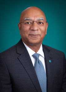 """Bharat """"BG"""" Nara; first senior vice president and director of the Technology Services Group; Lakeland Bank."""
