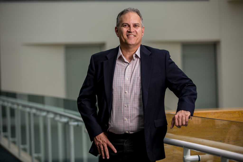 Professor Hector Lozada‑Vega, fellow of Seton Hall University's Institute for International Business in the Stillman School of Business. - AARON HOUSTON